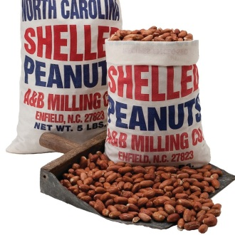 Raw Shelled Peanuts