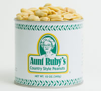 12 oz. Tin of Unsalted Peanuts