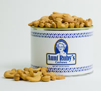 20 oz. Tin of Roasted Cashews