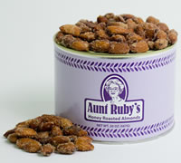 20 oz. Tin of Honey Roasted Almonds